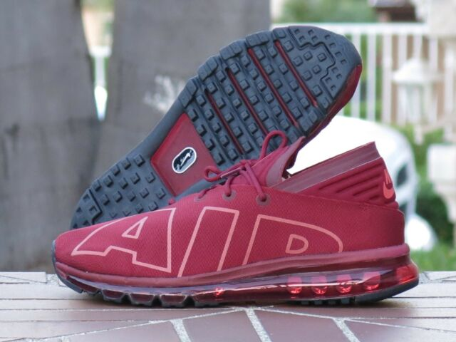 NIKE Mens Air Max Flair SE Team Red//University Red Black Running Shoe 10.5 Men US