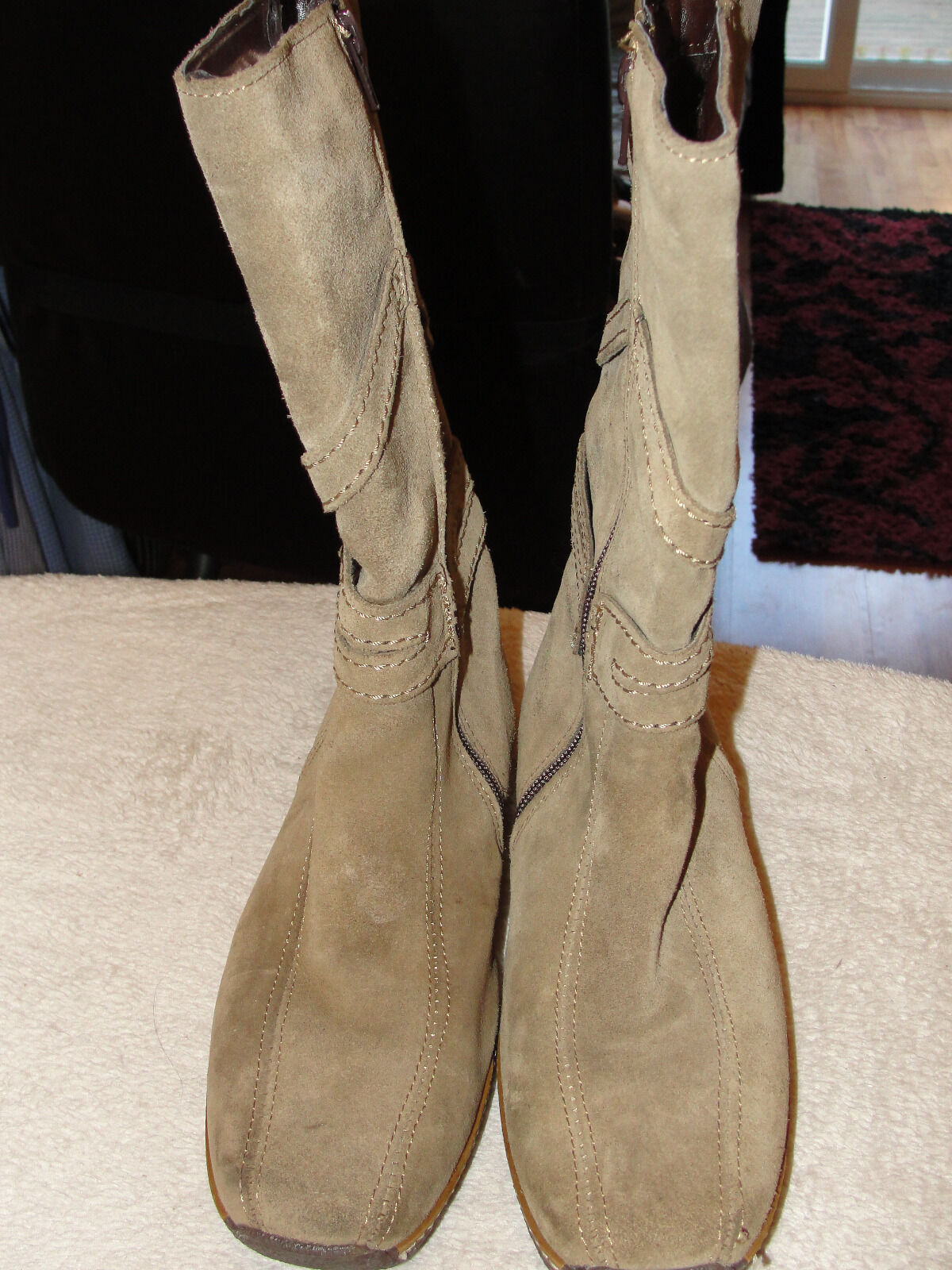 COUNTRYJACK SUEDE OTHER Stiefel SIZE 37 - NEW OTHER SUEDE - PLEASE READ 2170c9