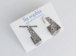 784a92042 Image is loading Lia-Sophia-034-Brocade-034-Silver-Tone-Filigree-