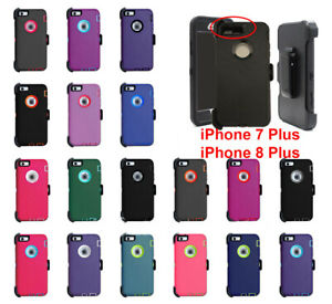 wholesale dealer 49016 78f17 Details about For Apple iPhone 7 Plus 8 Plus Case Cover (Belt Clip Fits  Otterbox Defender)