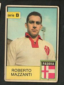 Figurina-Calciatori-Mira-1965-66-Mazzanti-Padova-Ottima-Rec