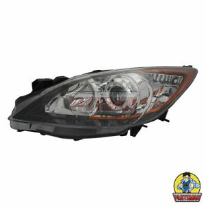 LH-Head-Lamp-Light-Mazda-3-4-5DR-4-09-12-13-Halogen-Type