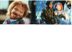 CHILD-039-S-PLAY-3-JEREMY-SYLVERS-CHUCKY-MOVIE-SCENES-SET-OF-2-PHOTOS-LOT