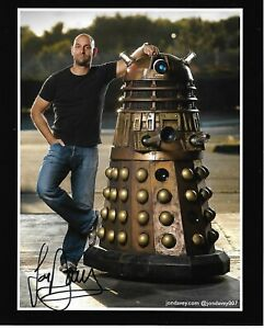 Jon-Davey-Doctor-Who-Dalek-Original-Autographed-8x10-Hi-Res-Photo-ONLY-ONE