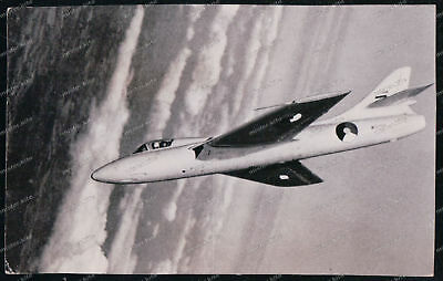 Motivated Foto-ak-hawker-hunter-f4-flugzeug-airplane- Flugzeuge & Flughäfen