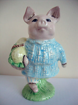 Pottery 100% True Little Pig Robinson Bp10c Boxed We Have Won Praise From Customers