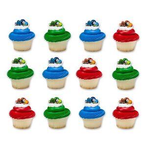 24 ct Thomas /& Friends Steam Team Cupcake Rings