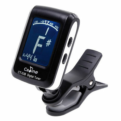 gi#b Mini Automatic Clip Digital Electronic Tuner Tuning for Acoustic Guitar New