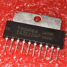 TA 7222 AP = 5,8 W AUDIO POWER AMPLIFIER , ZIP-10 , Toshiba