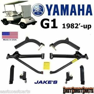 Jakes Lt Lift Kit Yamaha Golf Cart G2g9 Long Travel Gas El as well Customcarts in addition Lift Kits as well Watch moreover Thr Magura Assy. on yamaha g9 lift kit