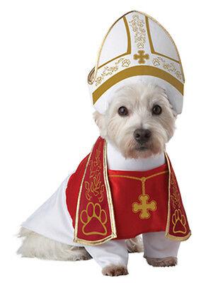 Holy Pope Hound Dog Pet Costume