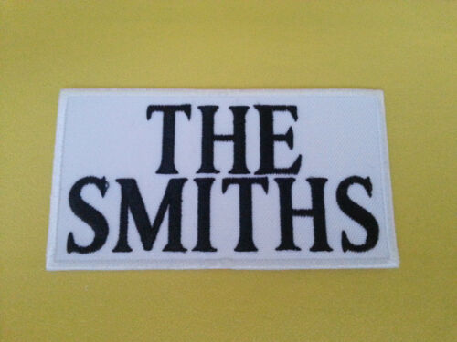 IRON ON PATCH: THE SMITHS PUNK ROCK HEAVY METAL MUSIC SEW ON