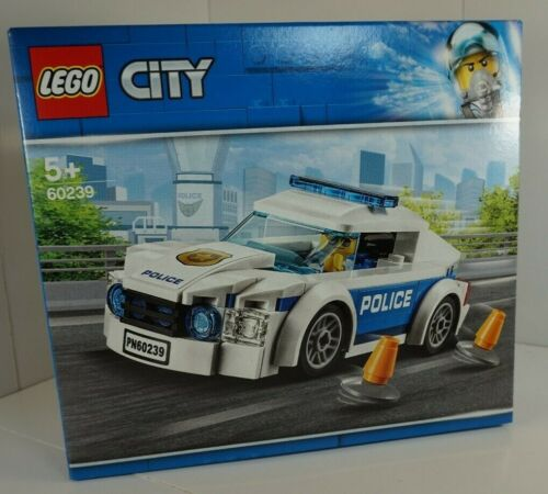 Lego City LEGO CITY Figurines voiture de POLICE CHIEF Cruiser 60239 NOUVEAU!