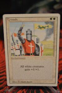 Magic The Gathering ~ 1x Crusade ~ REVISED ~ LP