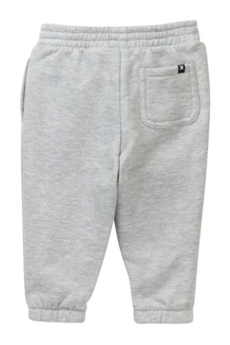 Hurley Infant Toddler Boy/'s 12M Gray Logo Sweatpants Bottoms Pants Core Joggers