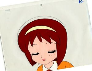 Japan Anime Girl Original Animation Cell From 1980s Unknown Show