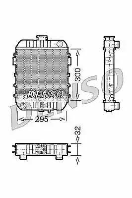 Denso Radiador DRM20060 Recambio 1302099 819232