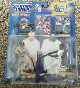1998 KEN GRIFFEY JR ALEX RODRIGUEZ CLASSIC DOUBLES STARTING LINEUP SLU MARINERS
