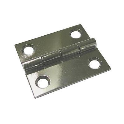 CHARNIERE OVALE INOX 316 51 X 38.5 X 2.0 MM