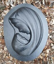 Gostatue Mary plastic mold concrete mold plaster mold MOTHER & Child MOLD