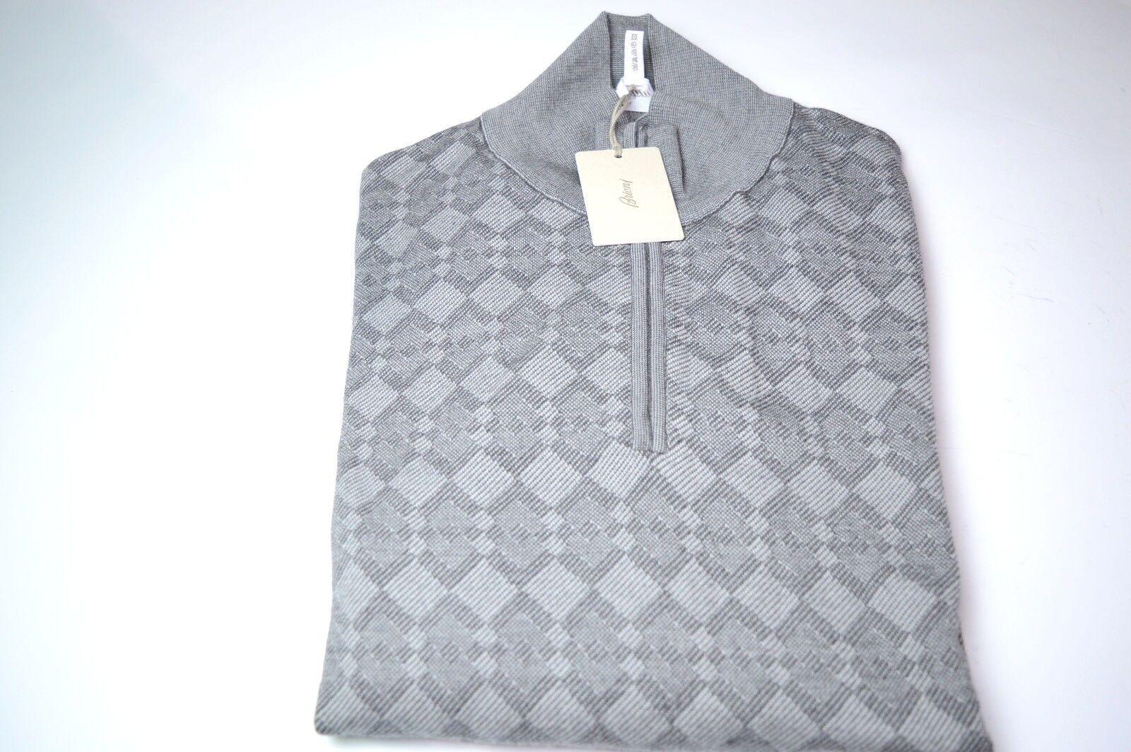 NEW  1250,00 BRIONI  Sweater  Wool Größe 4XL Us 60  Eu (AR107)