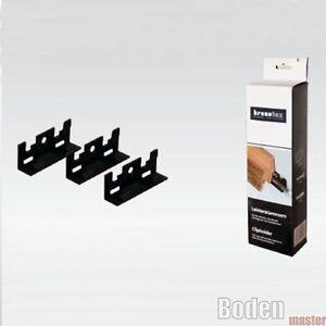 kronotex leistenklammern set mit 30 clips schrauben und d bel ebay. Black Bedroom Furniture Sets. Home Design Ideas