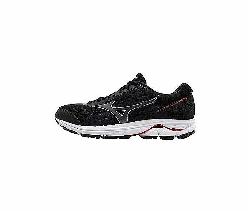 Wave Rider 22 2E  Men's Running shoes Black   Red J1GC183212 A 19J