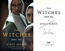 Stacy Schiff~PERSONALLY SIGNED~The Witches: Salem, 1692~1st/1st + Photos!