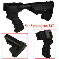 Full Set Remington 870 12 & 20 Gauge Stock Kit Black