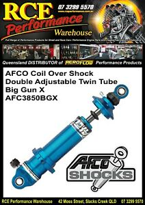 AFCO-Coil-Over-Shock-AFC3850BGX-Big-Gun-X-Double-Adjustable-Twin-Tube