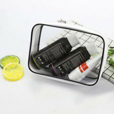 Clear Transparent PVC Travel Cosmetic Makeup Toiletry Wash Bag Pouch Zipper  BS 1482814971f3e