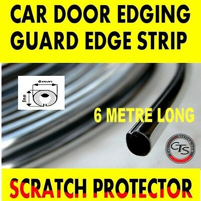 6m CHROME CAR DOOR GRILLS EDGE STRIP PROTECTOR MERCEDES C CLASS S203 W203
