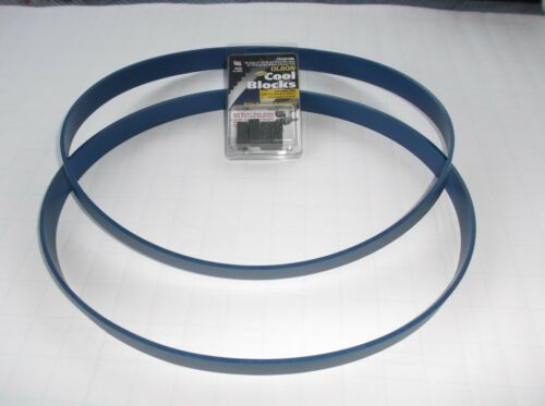 OLSON COOL BLOCKS BLUE MAX HEAVY DUTY BAND SAW TIRES FOR CRAFTSMAN 113.243310