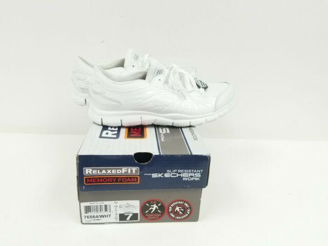 womens white memory foam sneakers