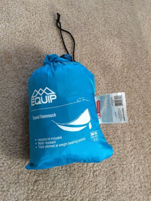 Equip Travel Hammock Portable Holds Up To 300 Lbs Ebay