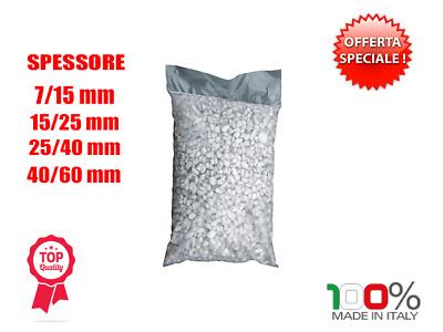 Ciottoli marmo Bianco Carrara 25//40 mm 25 kg sassi pietre arredo vasi e giardino