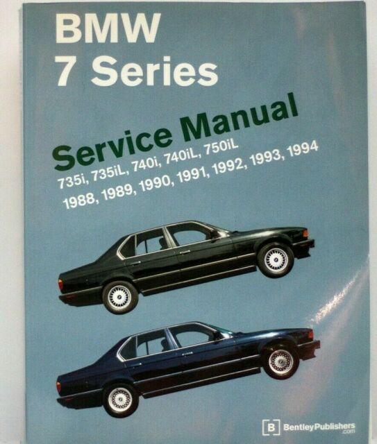 Bmw 7 Series Service Manual 1988
