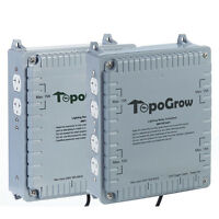 Topolite High Power Hid 4/8 Outlet Light Controller,4000w/ 8000w (120/240v)