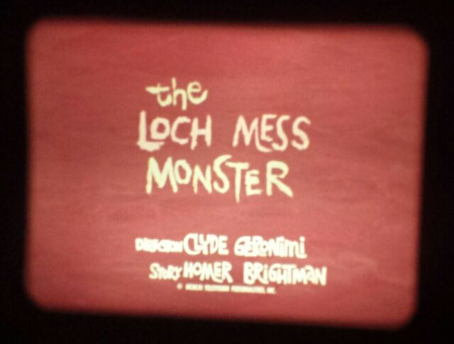 DICK TRACY The Loch Ness Monster