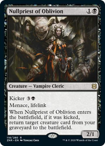 Zendikar Rising Nullpriest of Oblivion