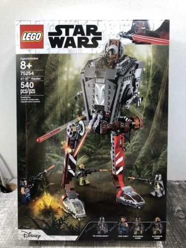 Lego Star Wars 75254 AT-ST Raider Mandalorian Collectible Walker Building Set