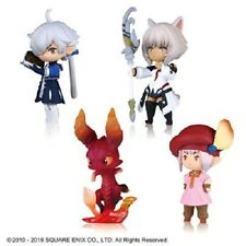 Final Fantasy XIV minion figure vol.1 & Taito limited Tatar set of 4 JAPAN