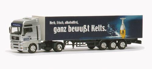 "Herpa h0 147729 Man tga maleta XXL-remolcarse /""kelts/"""