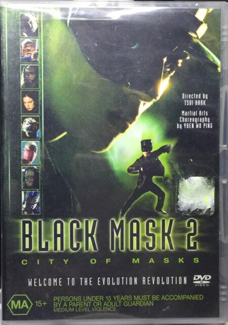 Black Mask 02 - City Of Masks (DVD, 2003)