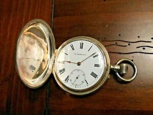 Henry-Hy-Moser-Solid-Silver-Pocket-watch-In-working-condition-Qte-Blondel-15j