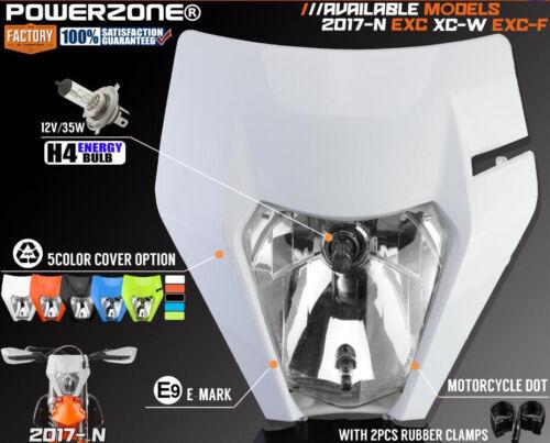 Motorcycle Bike MX Fairing Headlight Headlamp For KTM SX F EXC XC W F 2014-2019