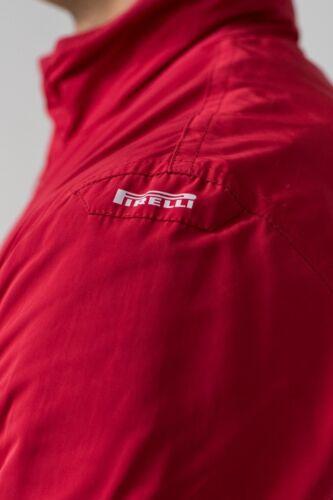 Uomo Giubbino Rosso Pirelli Tg 52 Col dtxpqA