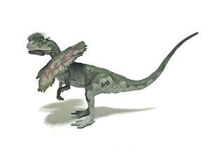 Vintage 1993 Dilophosaurus Jurassic Park Dinosaur Scream Figure Kenner