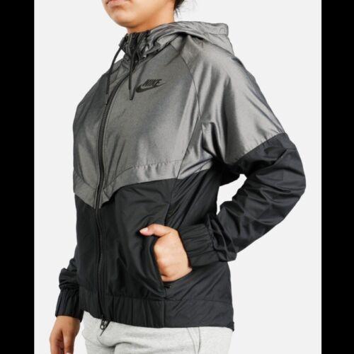 Nike Windrunner Black Gray Zip Jacket S