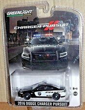 Greenlight 2016 Dodge Charger Die Cast Police pursuit Rare Promotion